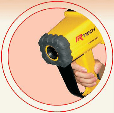 Portable and easy to use - Thermographic camera Fire fighting Amperis IRF2