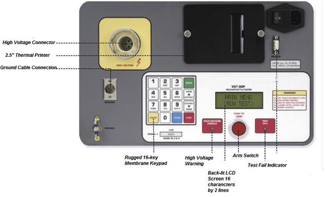 Détails de l'analyseur ampoules vides HVBT-80P