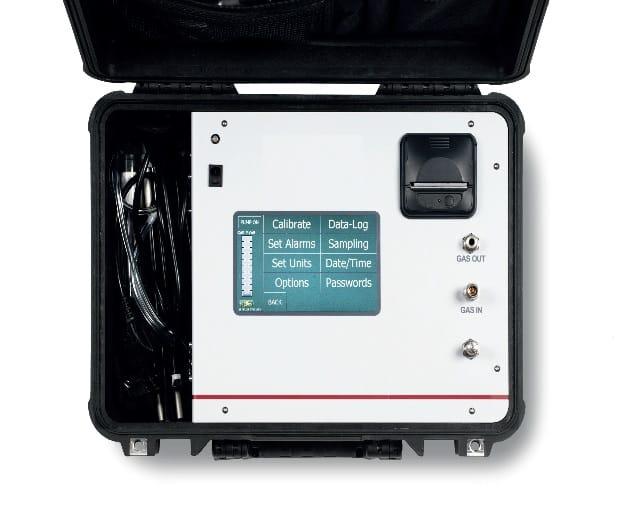 Detalle Analizador Portátil de Syngas Transdox 5100B