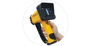 Fácil de usar y transportar - Cámara Termográfica IRF2