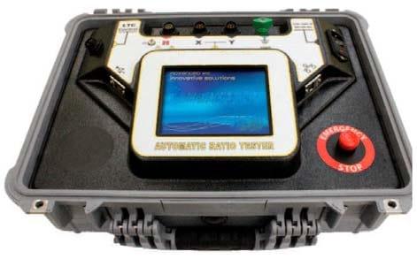 Detalle del equipo: Medidor automático de relación de transformación TTR-3D