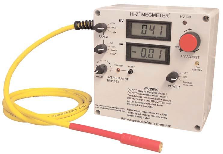 Medidor de alta tensión KTM