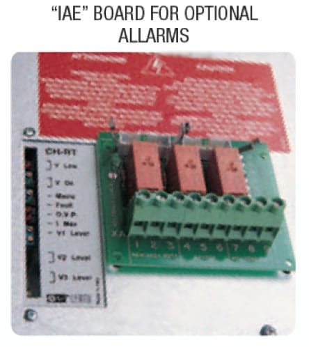 IAE Board - Battery chargers / rectifiers ACH Series