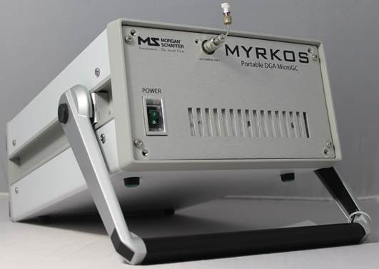 Analizador de gases disueltos en aceite Myrkos