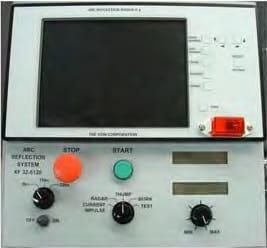 Panel de control Localización de fallas en cables AXF Series TP