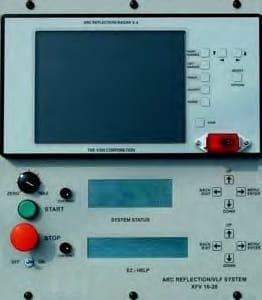 Panel Probador portátil VLF y localizador de fallas en cable Series AXFV