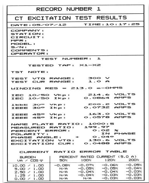 Reporte de impresora térmica integrada