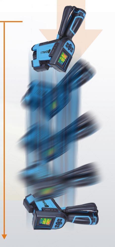 Cámaras termográficas TC3-P / TC7-P Series - Tecnología resistente a caídas