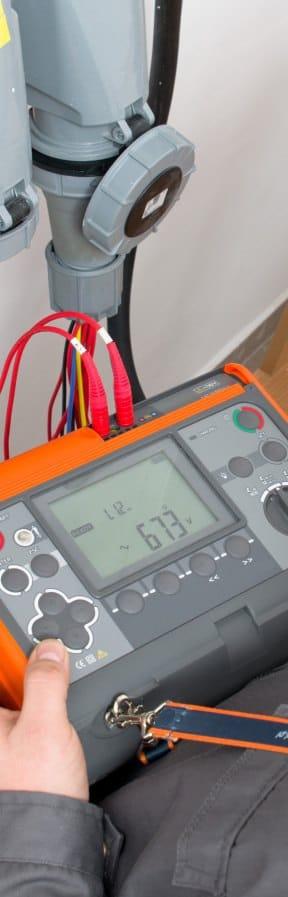Using Loop Impedance Meter AMZC-306