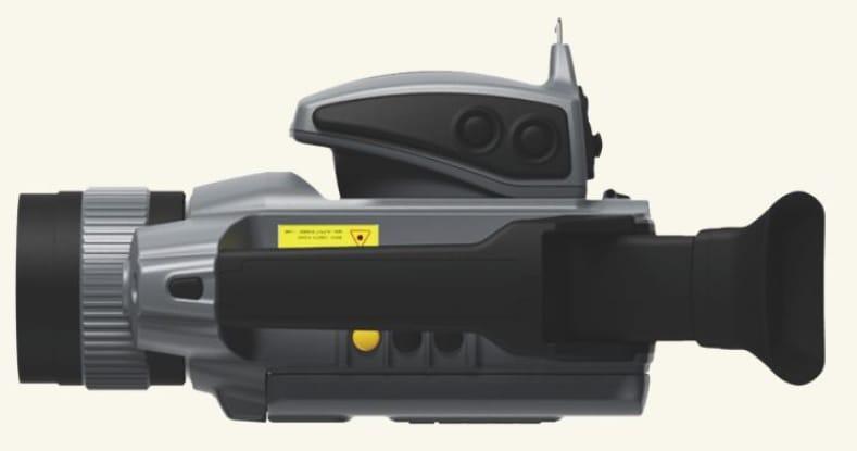 Vista superior Cámara termográfica IRDL708 Series