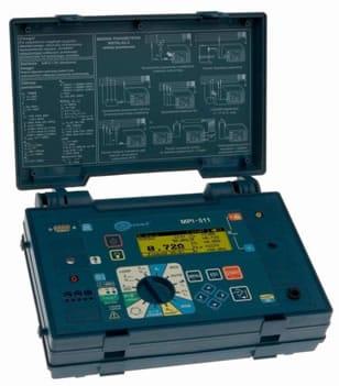 Telurometro y equipo multifunción MPI-511