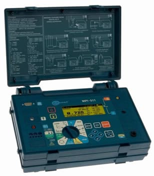 Appareils multifonctions Telurometro et MPI-511